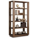 Flexsteel Wynwood Collection Maximus Bookcase  - Item Number: W1344-702