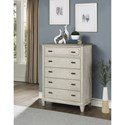 Flexsteel Wynwood Collection Newport Chest of Drawers - Item Number: W1082-872