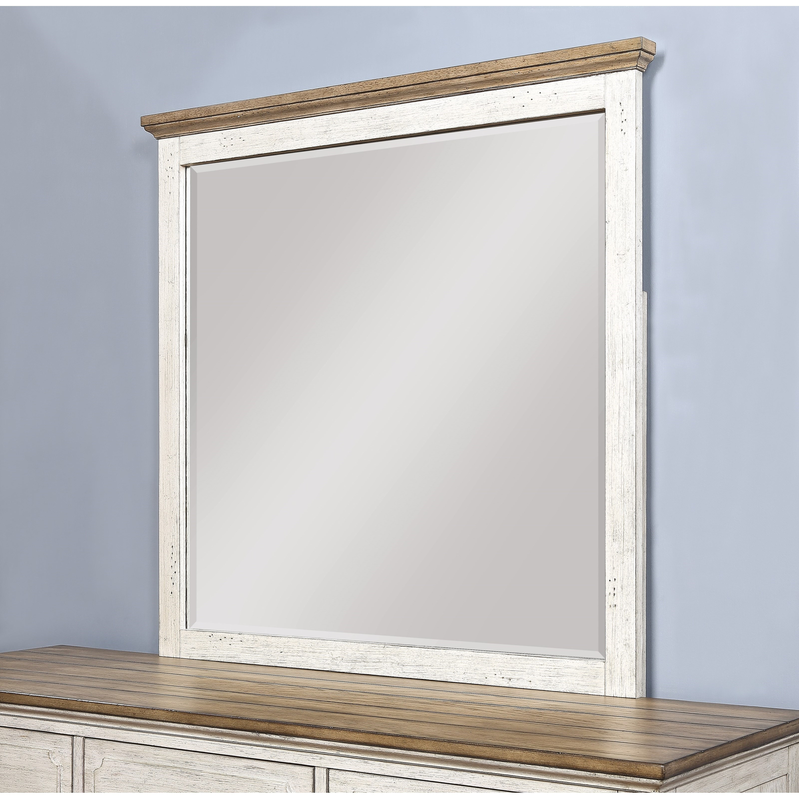 Gladys Gladys Dresser Mirror by Flexsteel Wynwood Collection at Morris Home