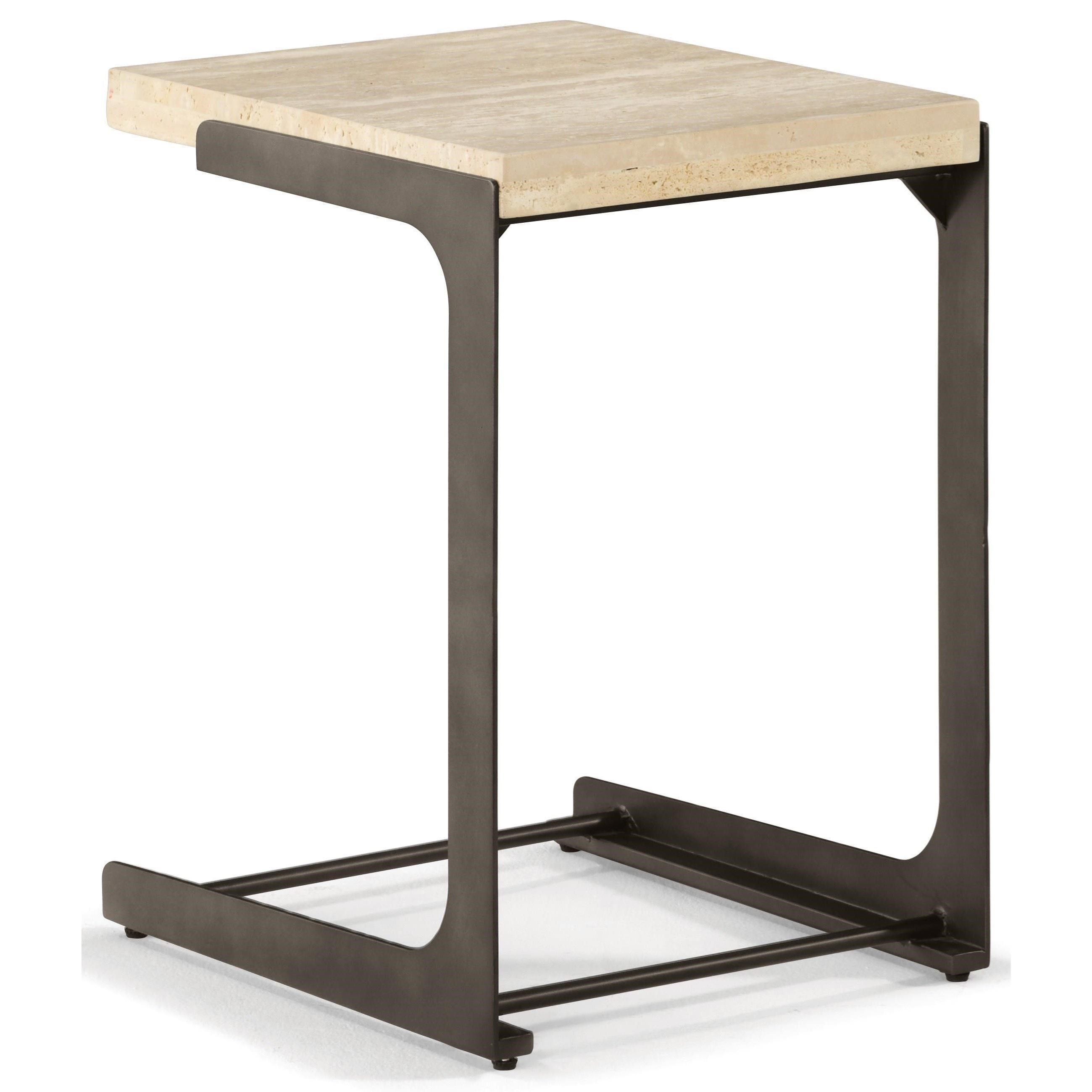 - Flexsteel Wynwood Collection Omni Contemporary Accent Table With