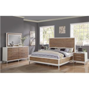 Flexsteel Wynwood Collection Oslo Bedroom Group
