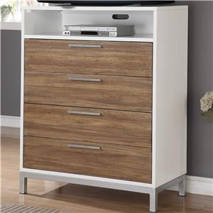 Flexsteel Wynwood Collection Oslo Media Chest
