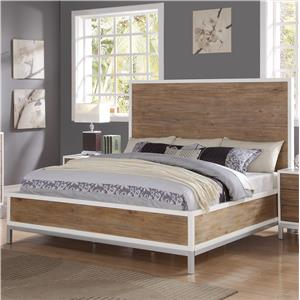 Flexsteel Wynwood Collection Oslo Cal King Platform Bed