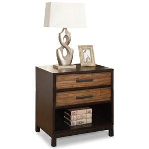 Flexsteel Wynwood Collection Outland Night Stand