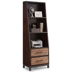 Flexsteel Wynwood Collection Outland Bookcase