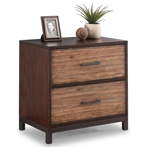 Flexsteel Wynwood Collection Outland Lateral File Cabinet