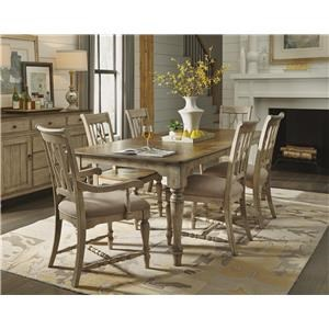 Cottage Dining Leg Table & Chair Set