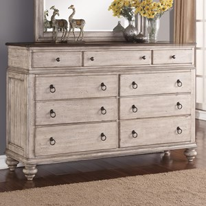 Flexsteel Wynwood Collection Plymouth Dresser