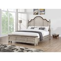 Flexsteel Wynwood Collection Plymouth Queen Poster Storage Bed - Item Number: W1047-90QS