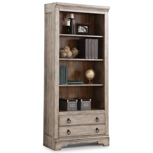 Flexsteel Wynwood Collection Plymouth File Bookcase