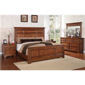 Flexsteel Wynwood Collection River Valley Queen Bedroom Group