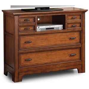 Flexsteel Wynwood Collection River Valley Media Chest