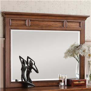 Flexsteel Wynwood Collection River Valley Dresser Mirror