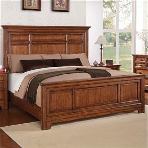 Flexsteel Wynwood Collection River Valley Queen Panel Bed