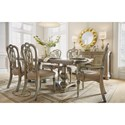 Flexsteel Wynwood Collection San Cristobal  Formal Dining Group - Item Number: W1167 Dining Group 6