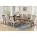 Flexsteel Wynwood Collection San Cristobal  9 Piece Dining Set - Item Number: W1167-830+8x842