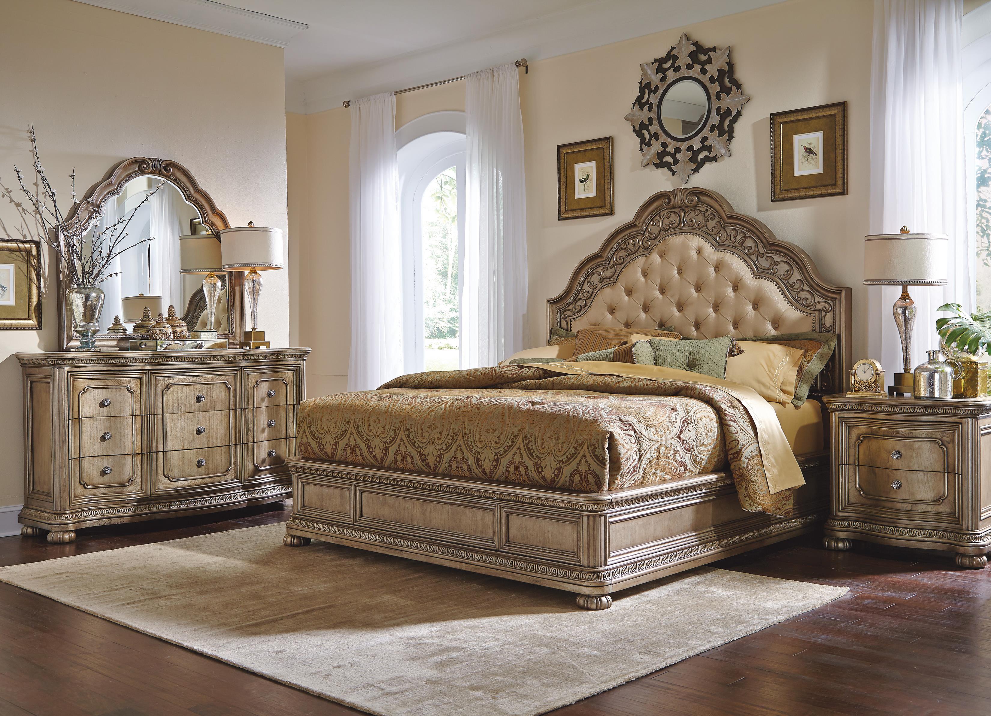 Flexsteel Wynwood Collection San Cristobal King Bedroom Group - Item Number: W1957 K Bedroom Group 1