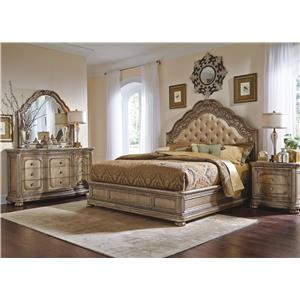 Flexsteel Wynwood Collection San Cristobal Queen Bedroom Group