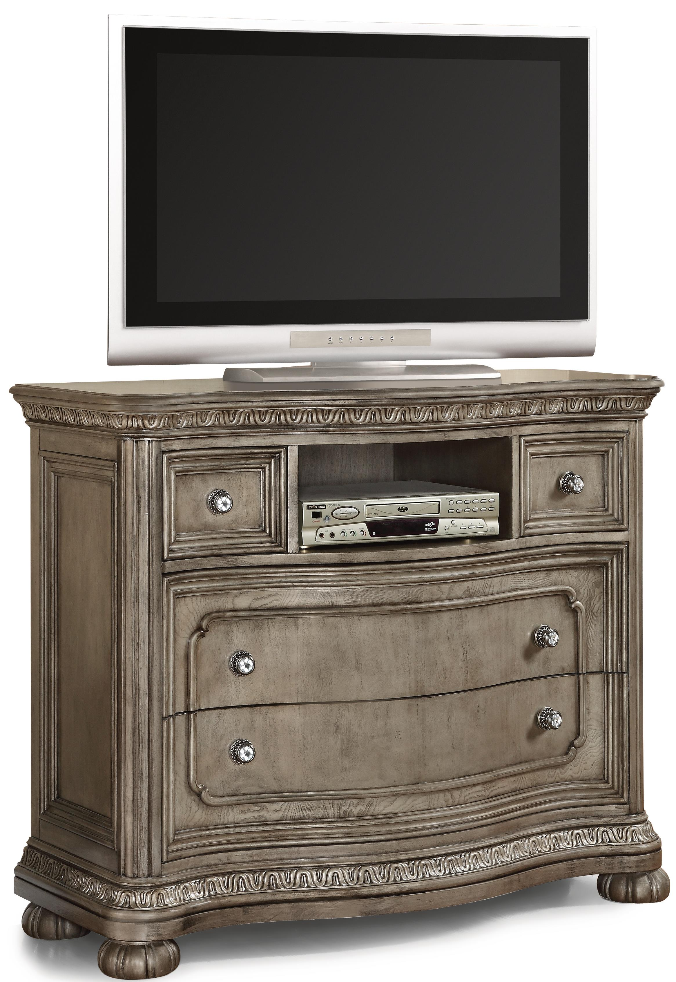 chests door with products hutch broyhill media doors louvered drawers wolf by furniture chest