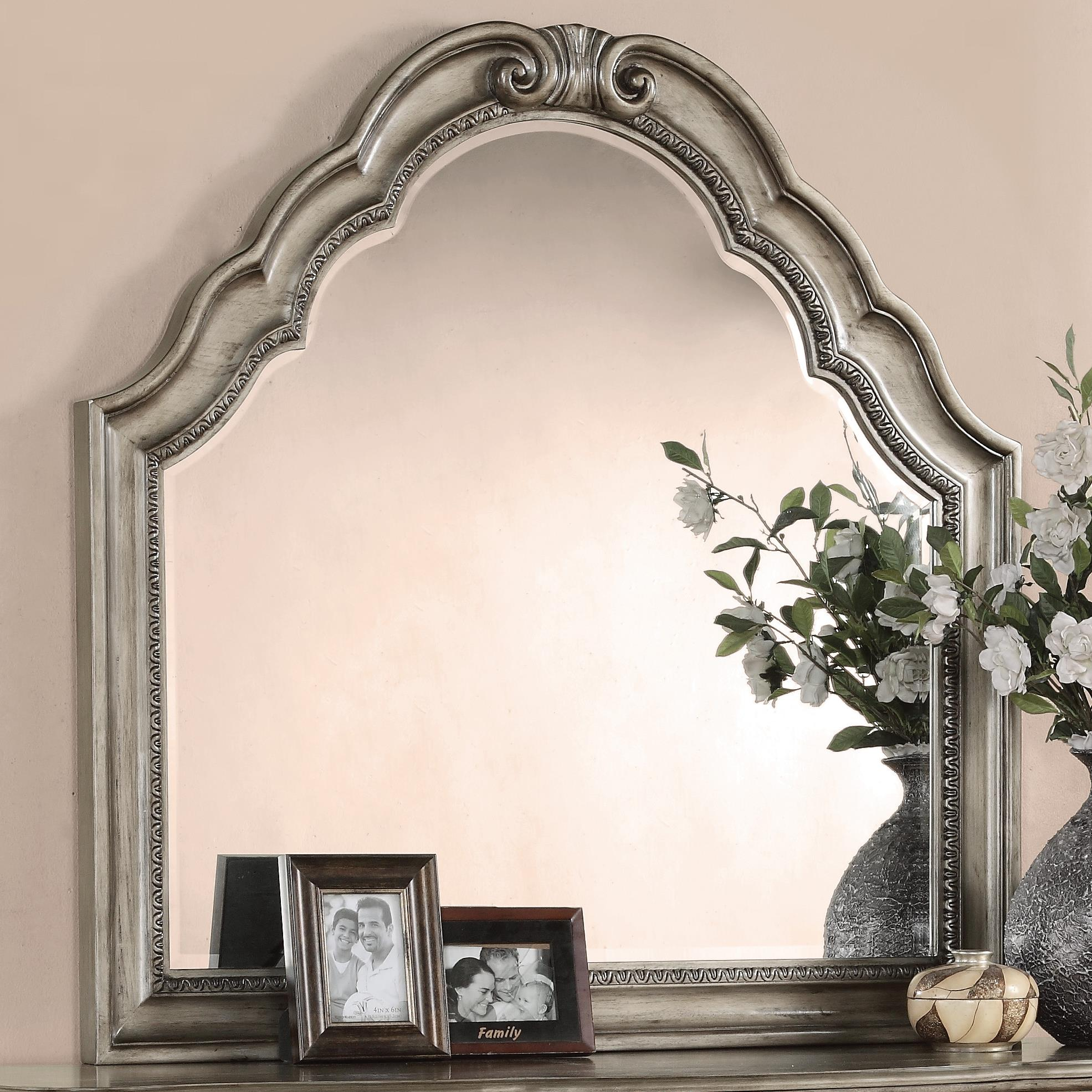 Flexsteel Wynwood Collection San Cristobal Mirror - Item Number: W1957-880