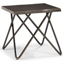 Flexsteel Wynwood Collection Shadow Lamp Table  - Item Number: W1069-02
