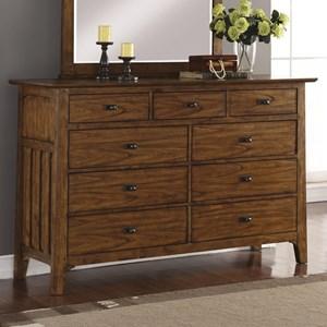 Flexsteel Wynwood Collection Sonora Dresser