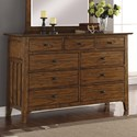 Wynwood, A Flexsteel Company Sonora Dresser - Item Number: W1034-860