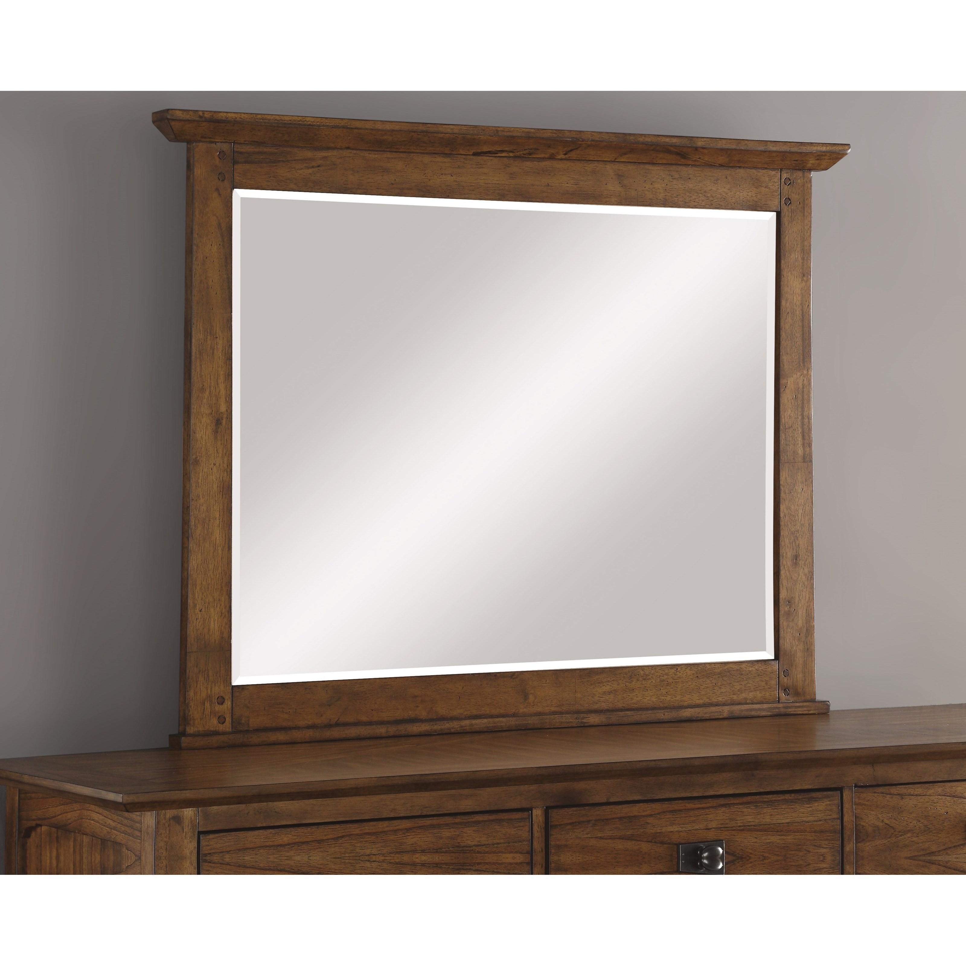 Mission Dresser Mirror   Sonora By Flexsteel Wynwood Collection   Wilcox  Furniture   Dresser Mirrors Corpus Christi, Kingsville, Calallen, Texas