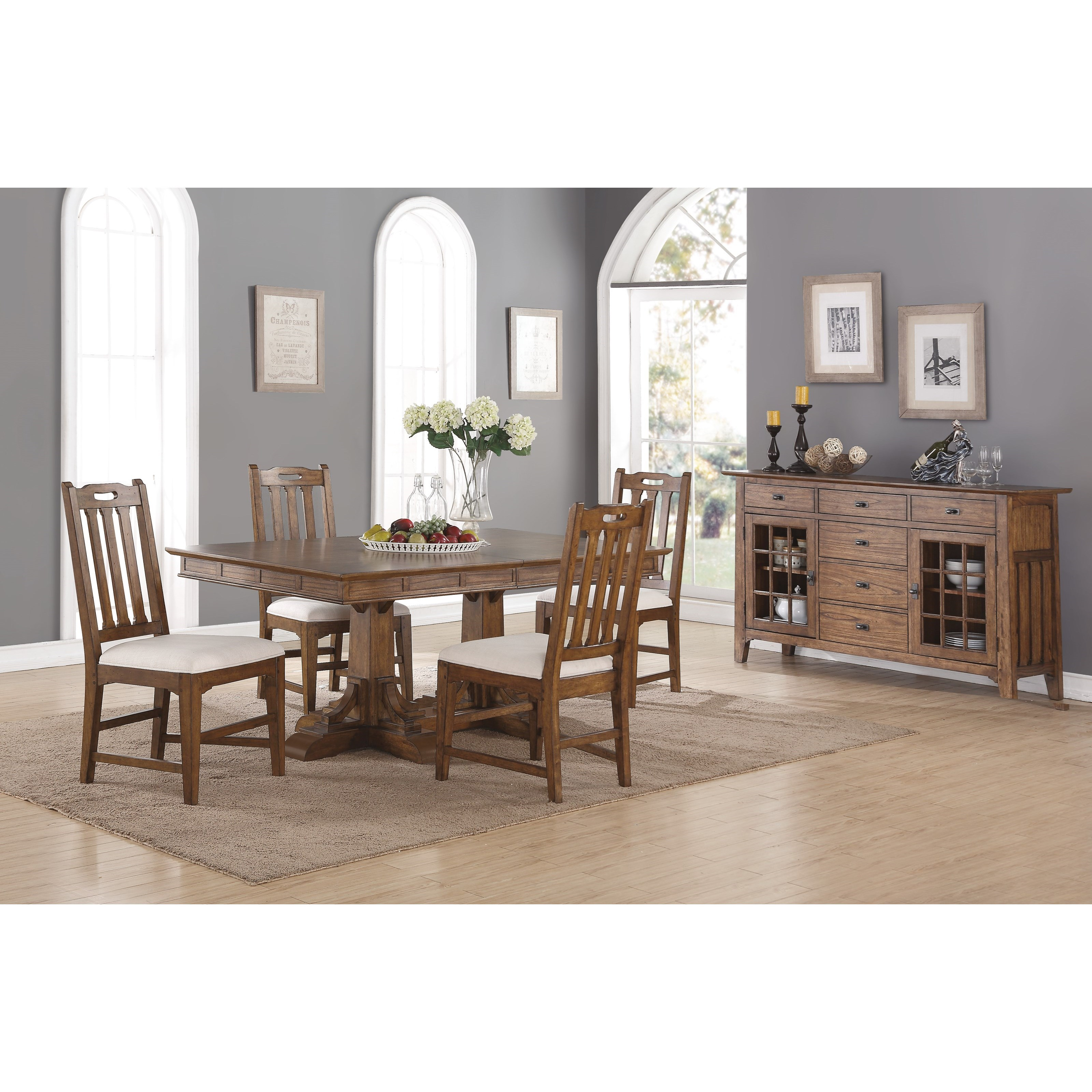 Flexsteel Wynwood Collection Sonora Casual Dining Room