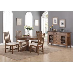 Flexsteel Wynwood Collection Sonora Casual Dining Room Group