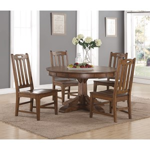 Flexsteel Wynwood Collection Sonora Round Table and Chair Set
