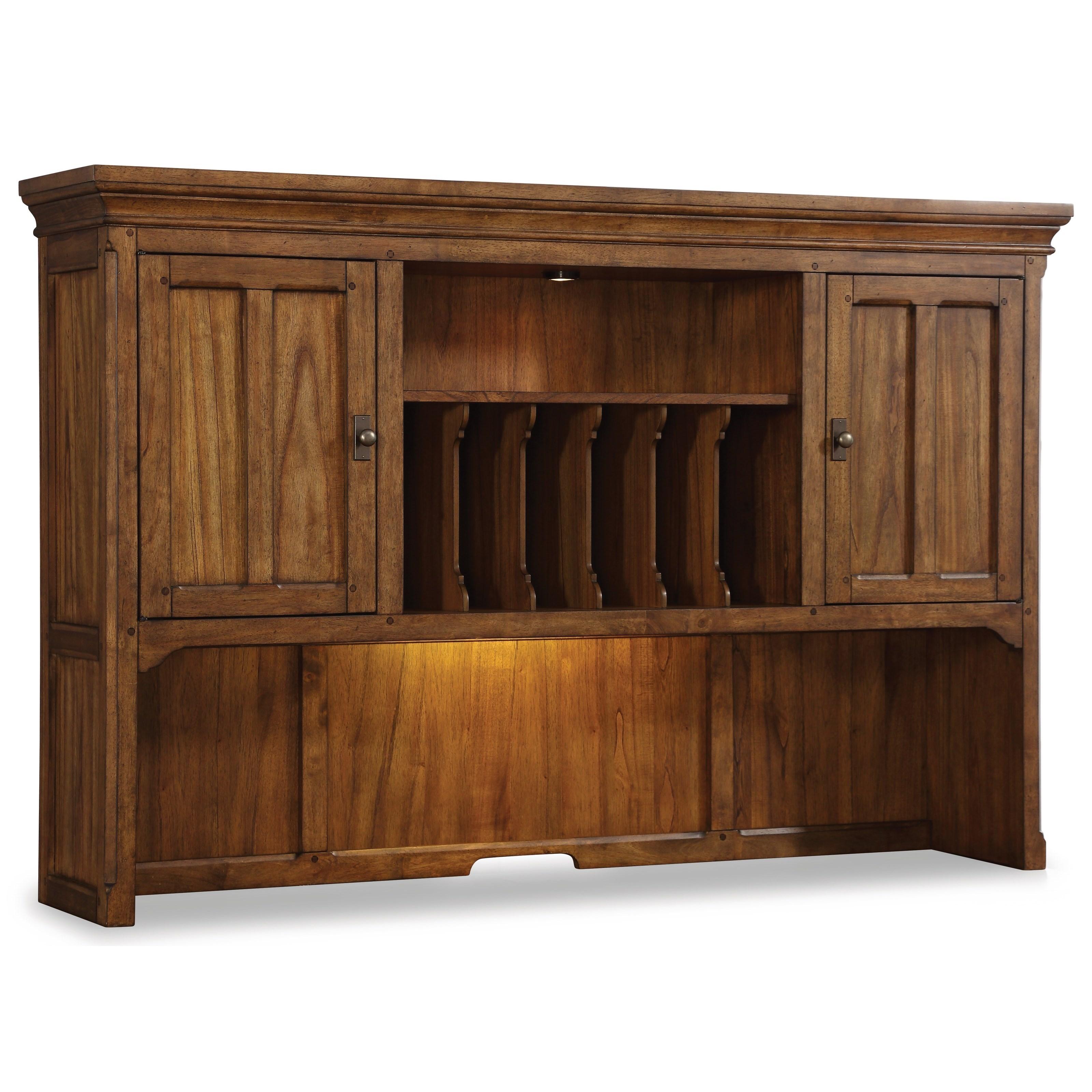 Flexsteel Wynwood Collection Sonora Hutch - Item Number: W1334-744