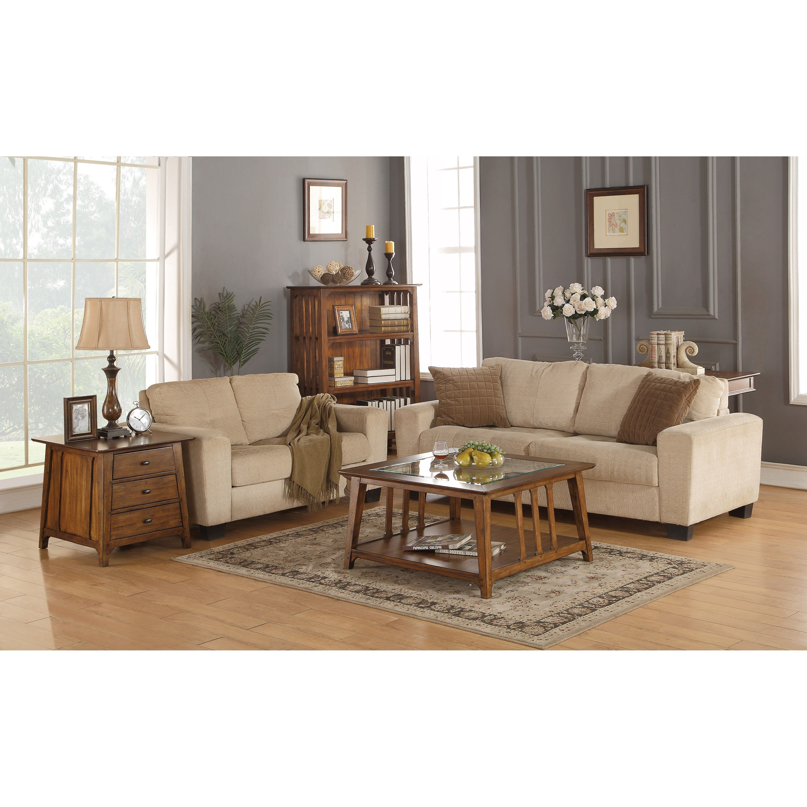 Flexsteel Sofa Mission: Flexsteel Wynwood Collection Sonora Mission End Table With