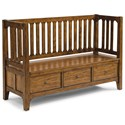 Wynwood, A Flexsteel Company Sonora Storage Bench - Item Number: W1434-021S