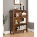 Flexsteel Wynwood Collection Sonora Mission Small Bookcase