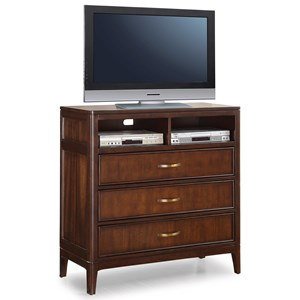 Flexsteel Wynwood Collection Sterling Transitional Media Chest