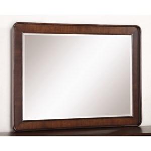 Flexsteel Wynwood Collection Sterling Transitional Dresser Mirror