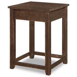 Flexsteel Wynwood Collection Theodore Contemporary Corner Table