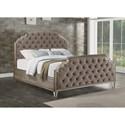 Flexsteel Vogue King Upholstered Bed - Item Number: W1063-90K