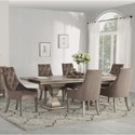 Flexsteel Vogue 7-Piece Dining Set  - Item Number: W1163-831+6x841