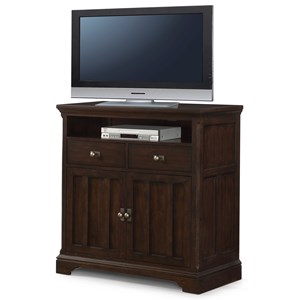 Flexsteel Wynwood Collection Walnut Creek Media Chest