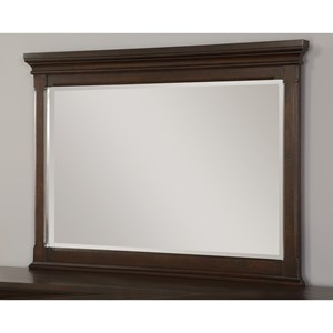 Flexsteel Wynwood Collection Walnut Creek Mirror