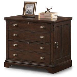 Flexsteel Wynwood Collection Walnut Creek Lateral File