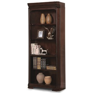 Flexsteel Wynwood Collection Westchester Traditional Bookcase