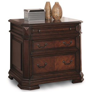 Flexsteel Wynwood Collection Westchester Traditional Lateral File Cabinet