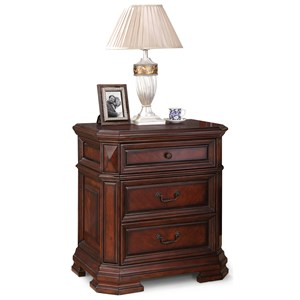 Flexsteel Wynwood Collection Westchester Traditional Night Stand