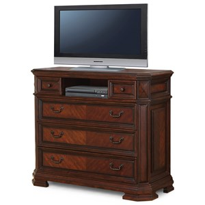 Flexsteel Wynwood Collection Westchester Traditional Media Chest