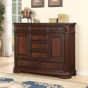 Flexsteel Wynwood Collection Westchester Traditional Door Chest