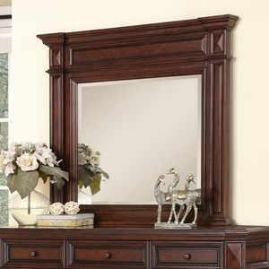 Flexsteel Wynwood Collection Westchester Traditional Mirror