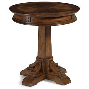 Flexsteel Wynwood Collection Windsor Mission Lamp Table